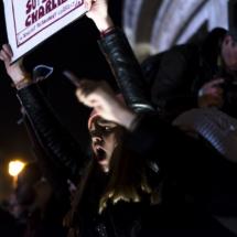 Paris : Rassemblement place de la République en hommage à Char