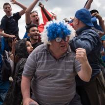EURO 2016 : France - Irlande dans la fanzone du champ de mars