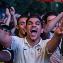 Paris : Allemagne - France dans la FanZone de la Tour Eiffel