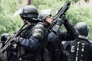 Paris : Septième journée de mobilisation nationale contre la L