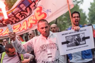 Paris : Nouveau rassemblement anti-loi Travail