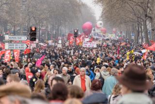 Paris : Sixième journée de manifestation contre la Loi Travail