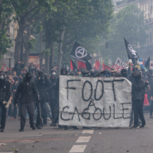 Paris : Violents heurts lors de la manifestation nationale contr