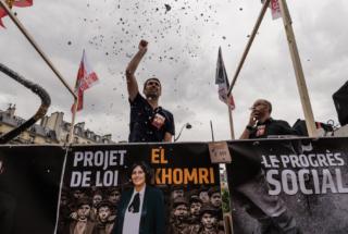 Paris : Onzième journée de mobilisation nationale contre la lo