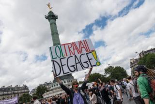Paris : 12e journée de mobilisation contre la loi travail