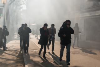 Paris : Manifestation du 1er mai contre la Loi Travail
