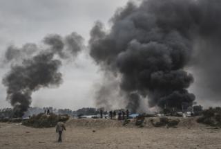 Calais : De nombreux départ d'incendies volontaires dans la Jun