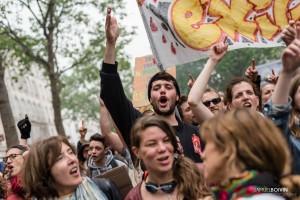 Paris - Nouveau rassemblement anti-loi Travail -007-1