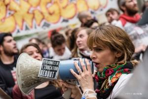 Paris - Nouveau rassemblement anti-loi Travail -007-2