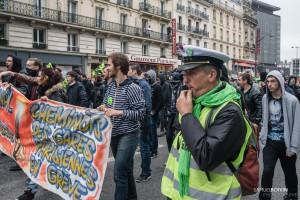 Paris - Manifestation des cheminots-005