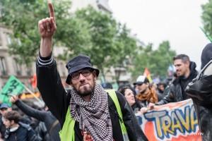 Paris - Manifestation des cheminots-007
