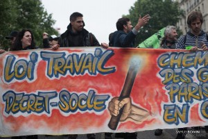 Paris - Manifestation des cheminots-008