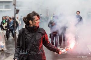Paris - Manifestation des cheminots-010