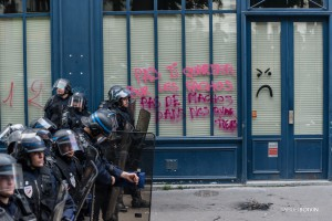 Paris - Manifestation antifasciste, à la mémoire de Clément Méric-020