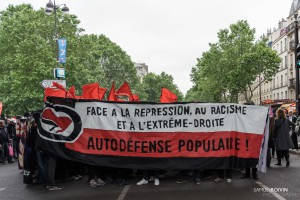 Paris - Manifestation antifasciste à la mémoire de Clément Méric-000