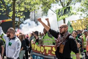 Paris - Manifestation interprofessionnelle contre la loi travail-001