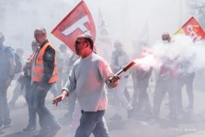 Paris - Manifestation interprofessionnelle contre la loi travail-004