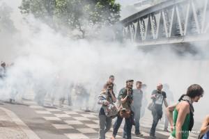 Paris - Manifestation interprofessionnelle contre la loi travail-005