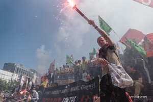 Paris - Manifestation interprofessionnelle contre la loi travail-010