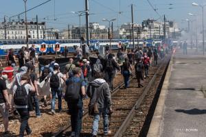 Paris - Manifestation interprofessionnelle contre la loi travail-016