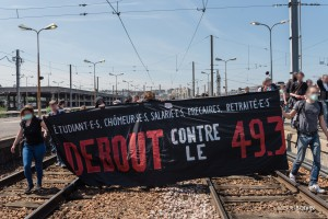 Paris - Manifestation interprofessionnelle contre la loi travail-017