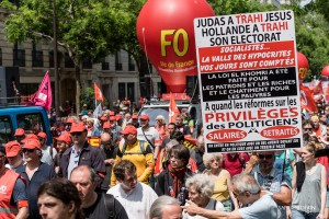 01Paris - Nouvelle manifestation contre la loi travail à Bastille-002