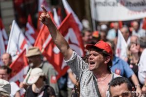 01Paris - Nouvelle manifestation contre la loi travail à Bastille-003
