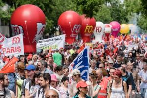 01Paris - Nouvelle manifestation contre la loi travail à Bastille-004