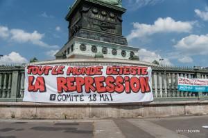 01Paris - Nouvelle manifestation contre la loi travail à Bastille-010